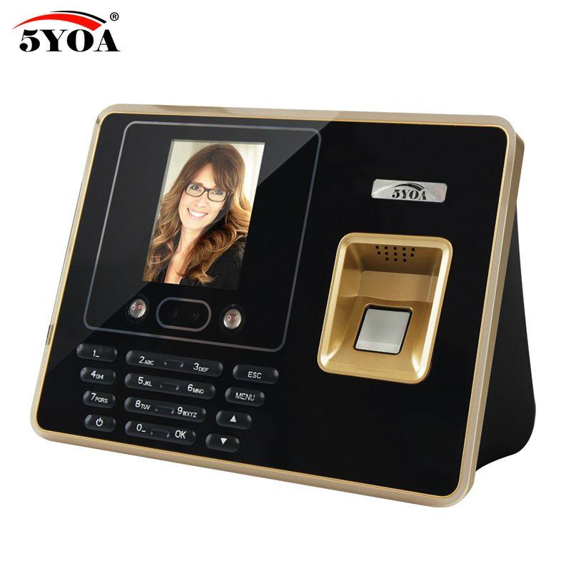 5YOA BF30 Fingerprint Time Attendance Wifi Device Biometric Face Recognition Facial Employee