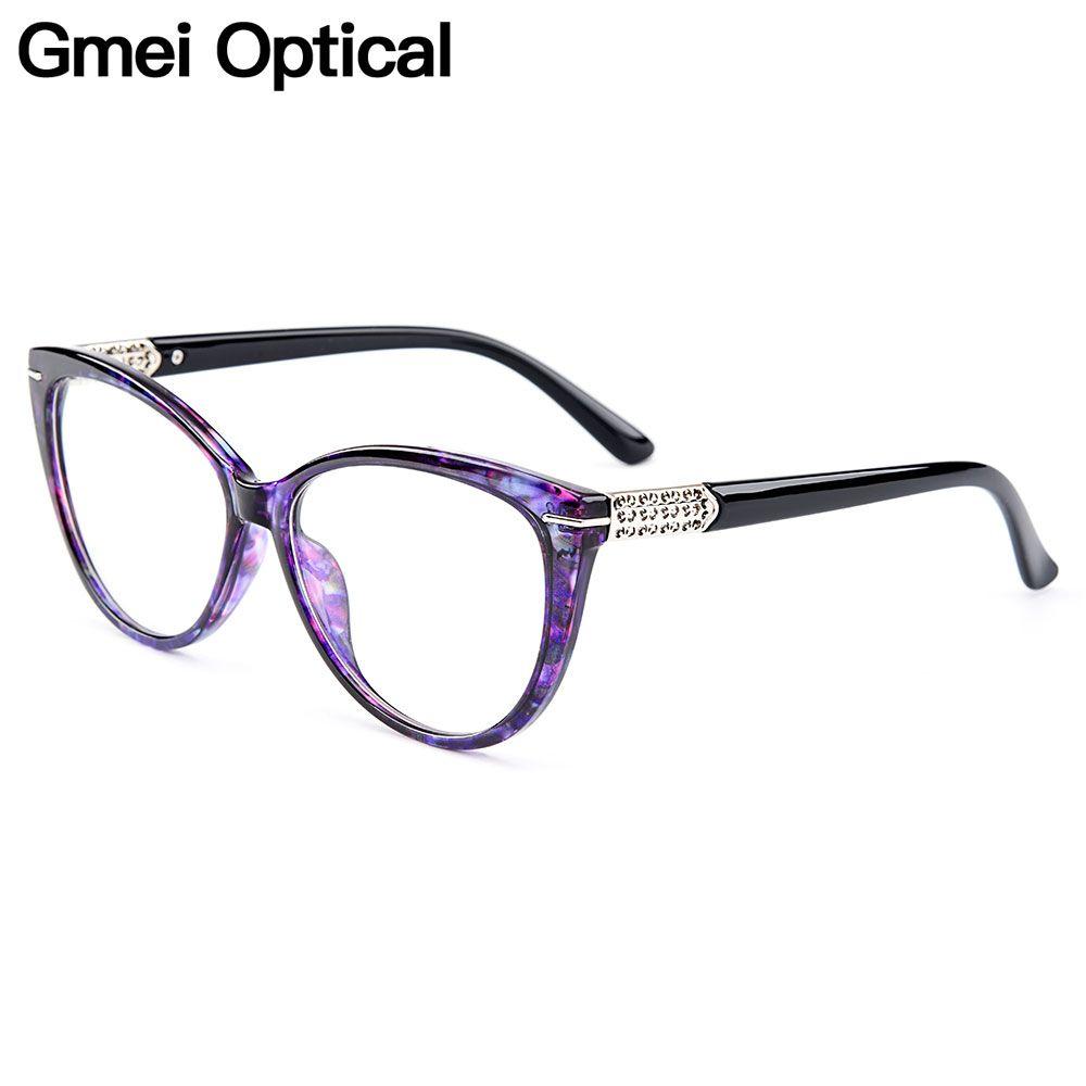Gmei Optical Urltra-Light TR90 Cat Eye Style Women Optical <font><b>Glasses</b></font> Frames Optic <font><b>Glasses</b></font> Frame For Women Myopia Spectacles M1697