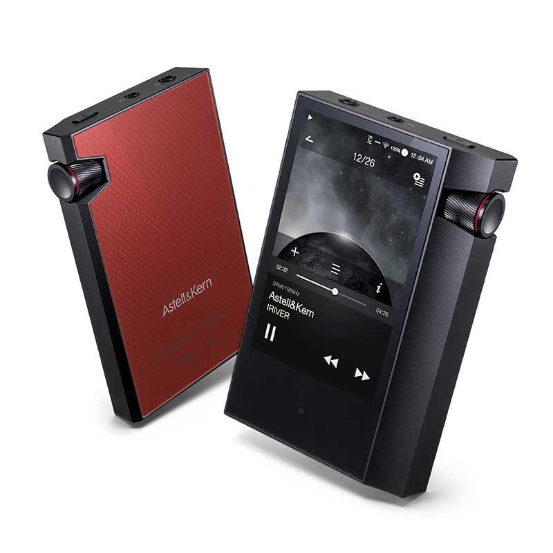 IRIVER Astell & Kern AK70 MKII HIFI-Player Tragbare Hohe Auflösung Dual DAC musik Audio MP3 player DAP Geschenk die leder fall