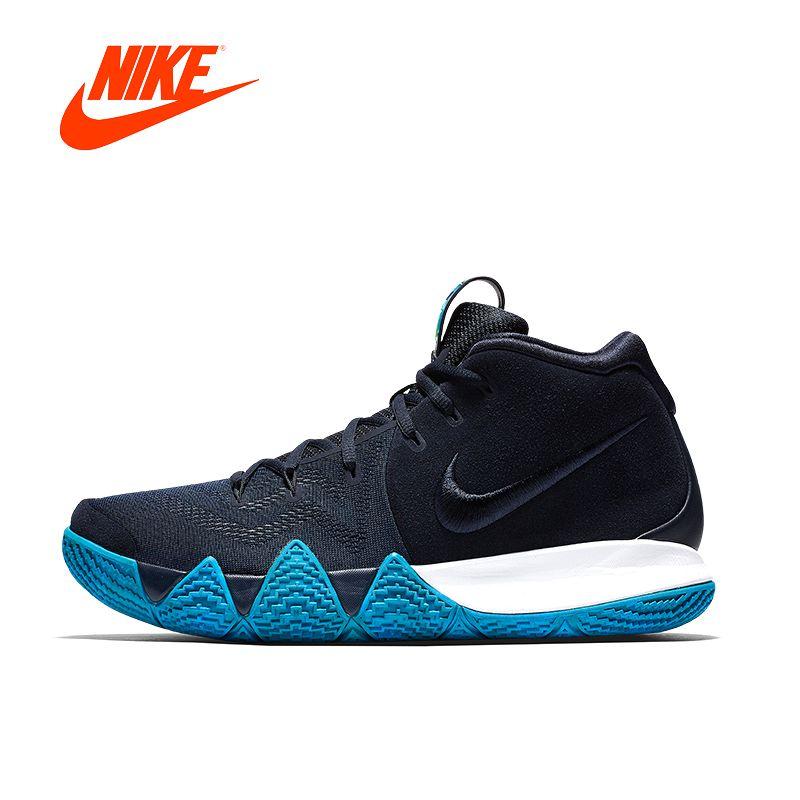 Оригинальный Новое поступление Аутентичные Nike Kyrie 4 epmens Баскетбол обувь кроссовки 943807 Пеший Туризм спорта на открытом воздухе