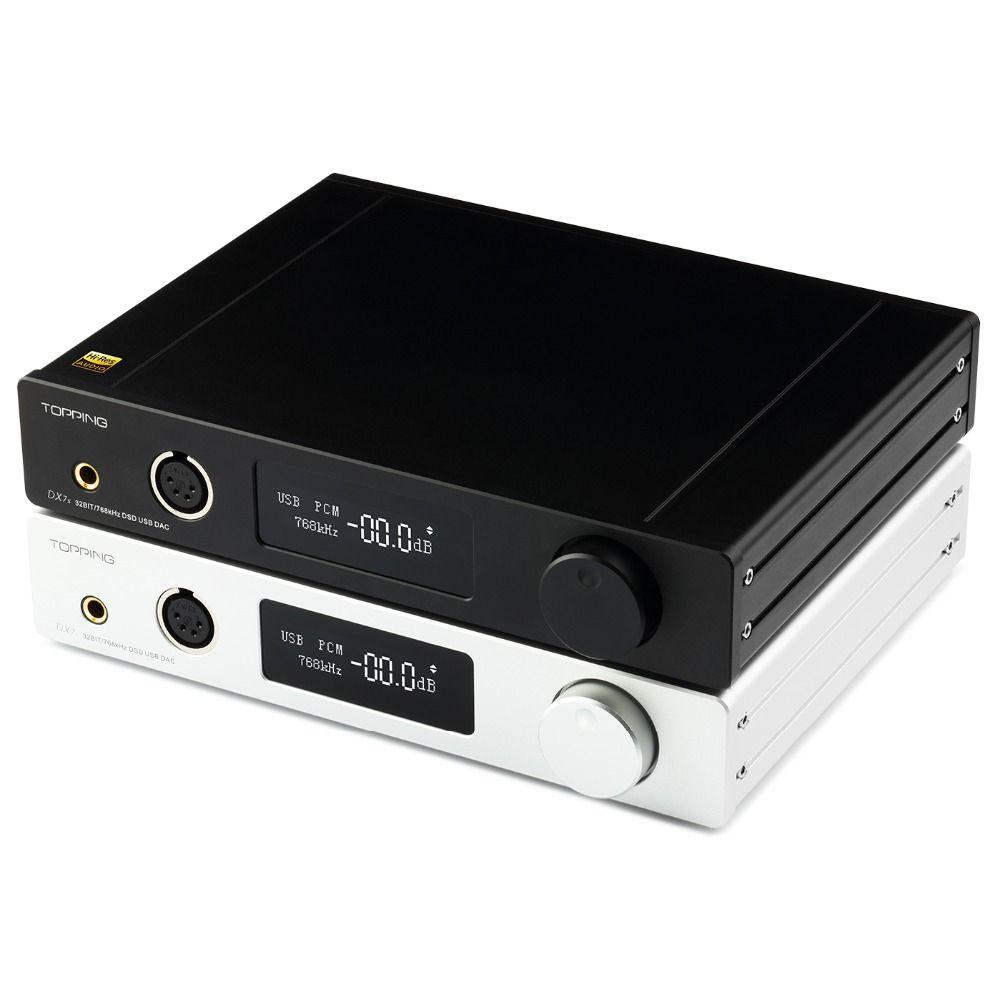 Richt DX7S 2 * ES9038Q2M 32Bit/768 karat DSD512 DSD USB Volle Ausgewogene DAC Kopfhörer Verstärker