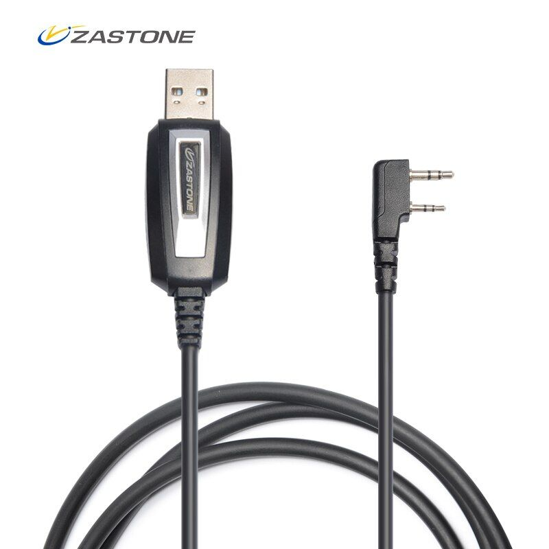 Zastone TK Plug Programming Cable for CB Radio Walkie Talkie for BAOFENG UV-5R BF-888S UV-82 Zastone ZT-889G X6 V77 V8 ZT-501