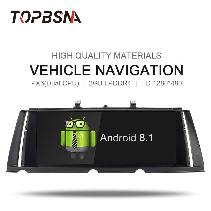 TOPBSNA PX6 Android 8.1 Auto DVD player FÜR bmw 7 Serie F01/F02 2009-2012 Auto Multimedia-Player GPS audio Radio NAVI Stereo WIFI