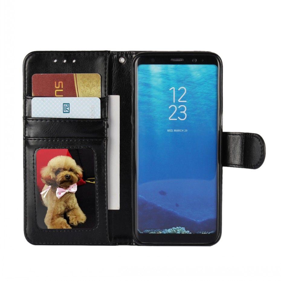 Coque pour Samsung Galaxy S9 S8 Plus Cas De Silicium pour Samsung S5 Neo S3 S4 Mini S6 S7 Bord Couvercle Rabattable Portefeuille En Cuir Fundas Capa