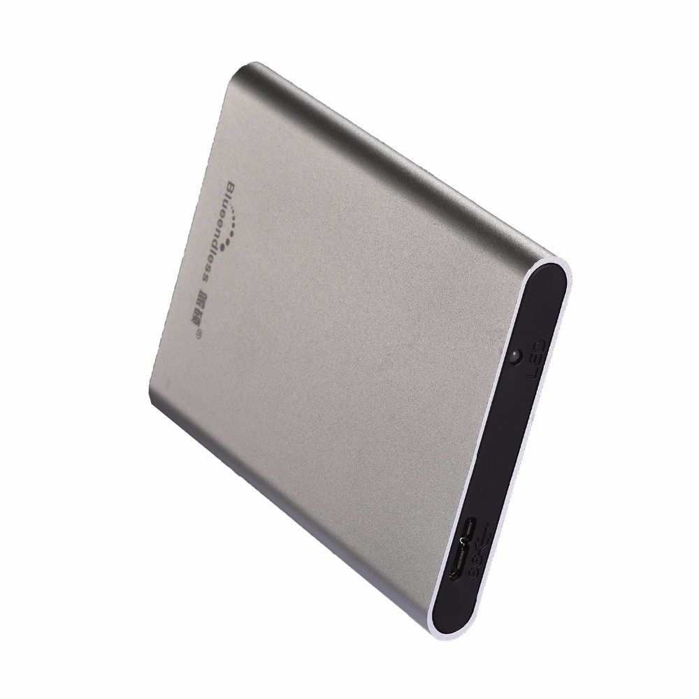 Blueendless USB 3.0 External Hard Drive Disk 500GB HDD Externo Disco HD Disk Storage Devices With retail packaging