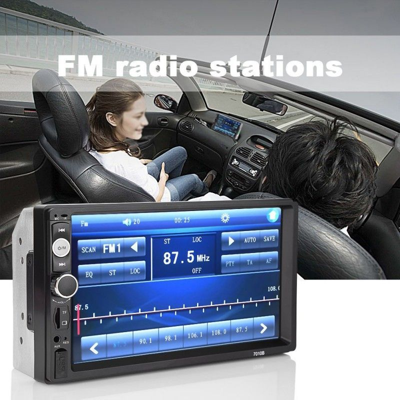 7010B 2 din Car Multimedia Player Audio Stereo radio Touch Screen Digital Display Bluetooth USB FM Autoradio 7