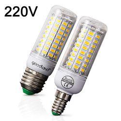 E27 LED Ampoule E14 Lampe LED 220 V Ampoule de Maïs Blanc Chaud Blanc Froid 24 36 48 56 69 72 Led pour La Maison Moderne Salon A MENÉ La Lumière