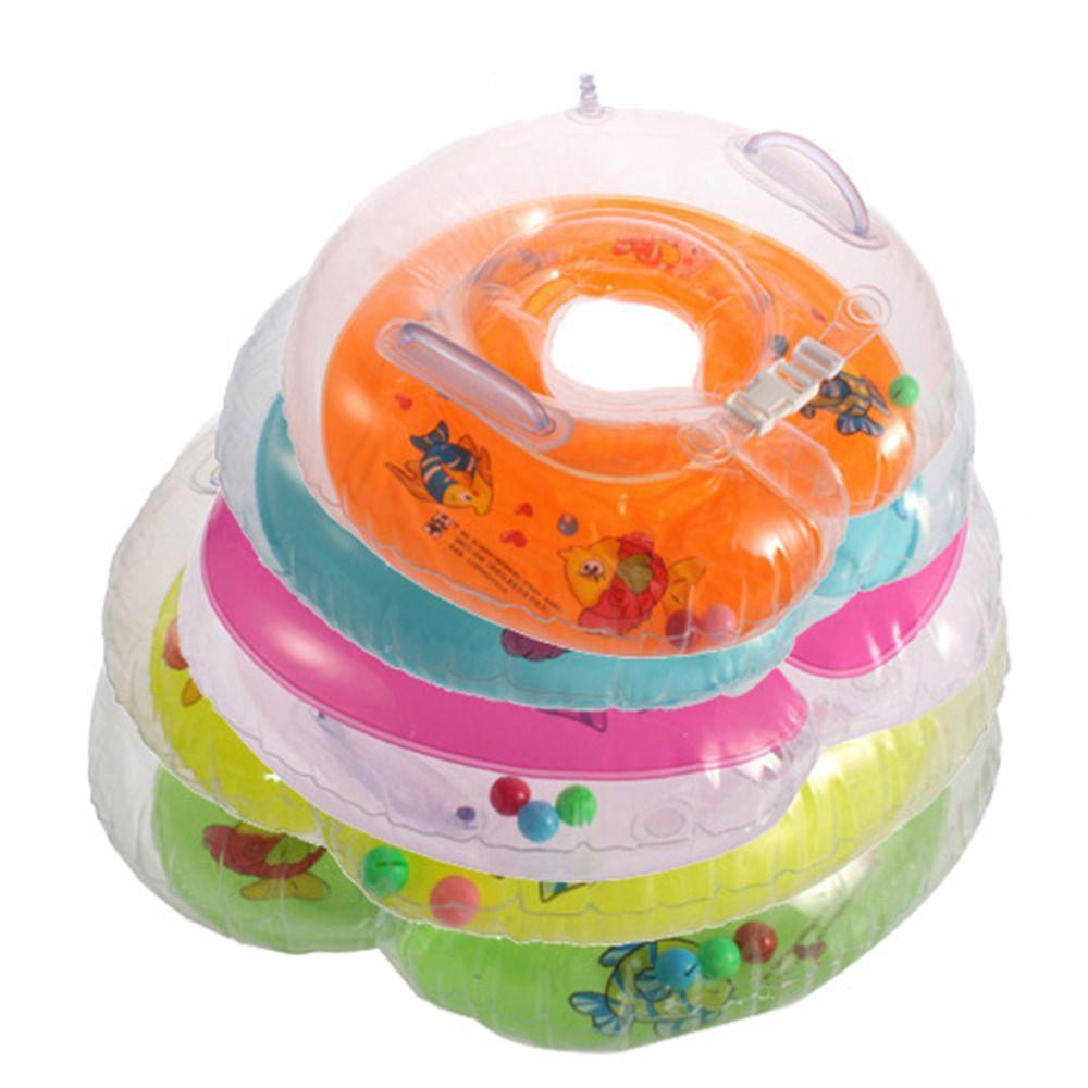1 Stücke Bunte Catoon Einstellbare Neue Baby Aids Infant Schwimmhalsring Aufblasbaren Schlauch Float Sicherheit Ring Hot Weltweit Dropshipping