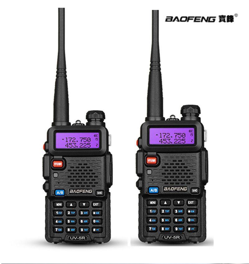 2 pièces Baofeng uv-5r CB radio VOX 10Km Talkie Walkie paire Deux Way radio communicador pour Baofeng jambon raido uv5r