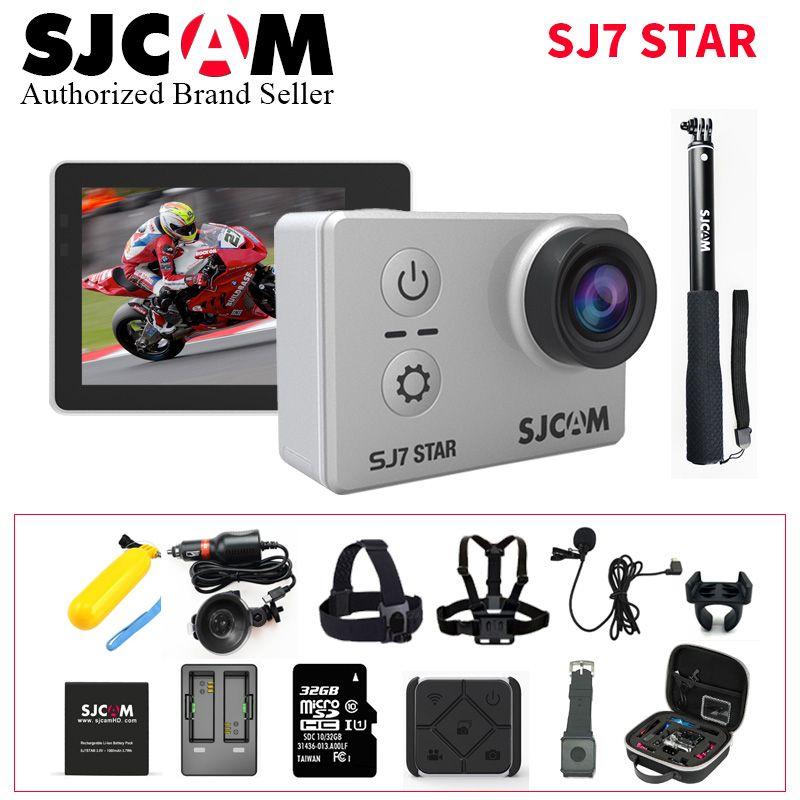 SJCAM SJ7 Star Wifi Action Camera Ambarella A12S75 4K 30fps Gyro 2.0 Inch Touch Screen Sport Camcorder Diving SJ 7 Mini DV CAM