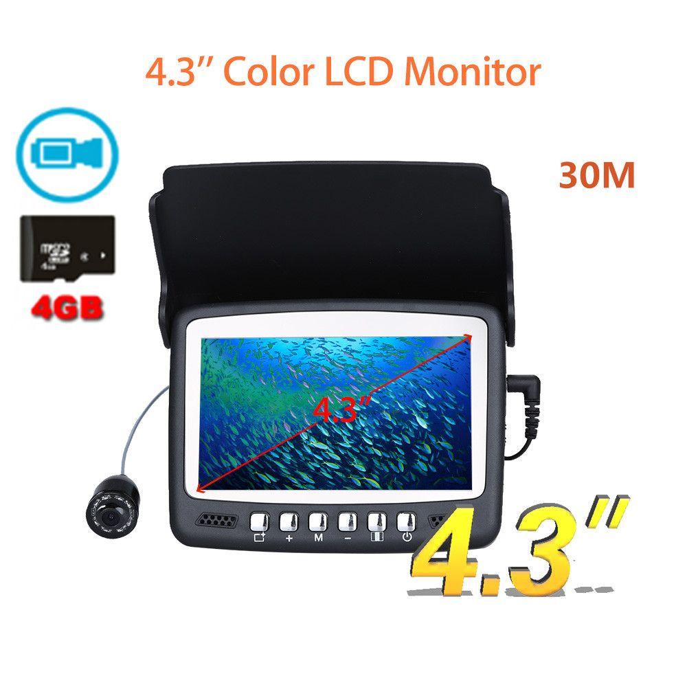 Eyoyo 30m Professional Fish Finder Underwater Fishing Camera 4.3