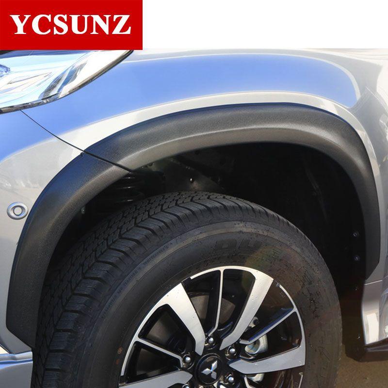 2016-2017 kotflügel Für Mitsubishi Pajero Sport Kotflügelverbreiterungen Für Mitsubishi Montero Sport Pajero 2017 fender Ycsunz