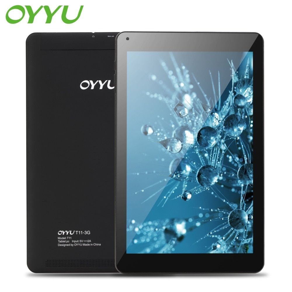 OYYU T11 10.1 inch Phablets Android 7.0 3G Phone Call Tablet Pc Quad Core 1.3GHz 1GB+16GB MT8321 GPS WiFi Bluetooth New Tablets