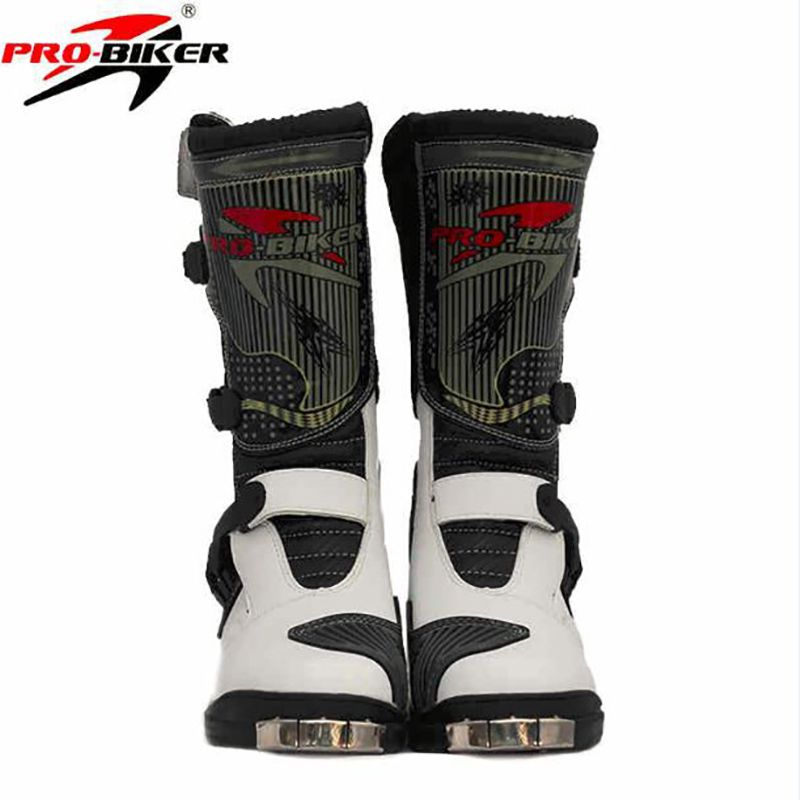 Professional Knee High Motorcycle Scooter Racing Boots Motocross Speed Boots Moto Botas Off Road  Boots/shoes
