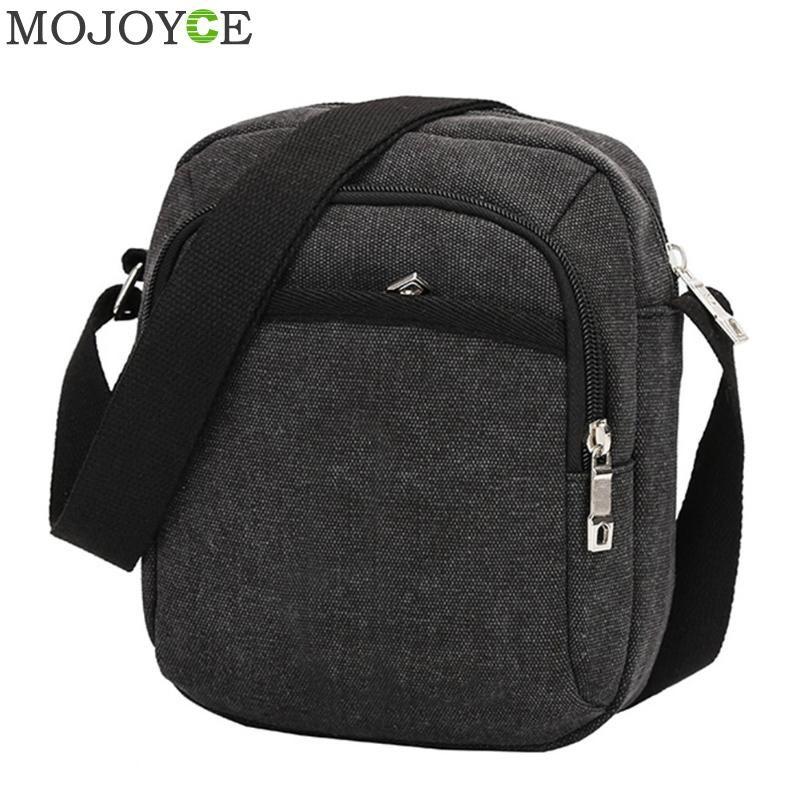 Fashion Men Shoulder Crossbody Bag Canvas Mens Handbag Casual Travel Crossbody Bags Designers Brand Messenger Men's Bags 2018