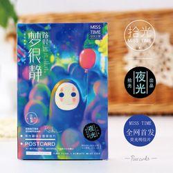 30 feuilles/LOT chihiro No Face homme Carte Postale/Carte De Voeux/Carte De Souhaits/De Noël et Nouveau année cadeaux