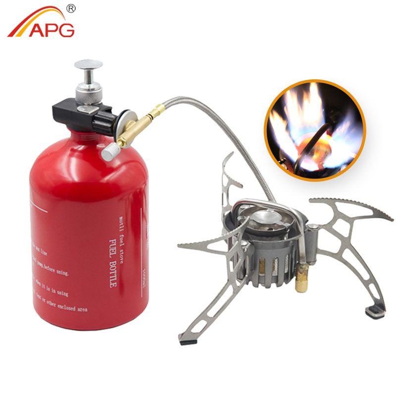 Poêle à essence de grande capacité APG 1000 ml et brûleurs à gaz portables extérieurs
