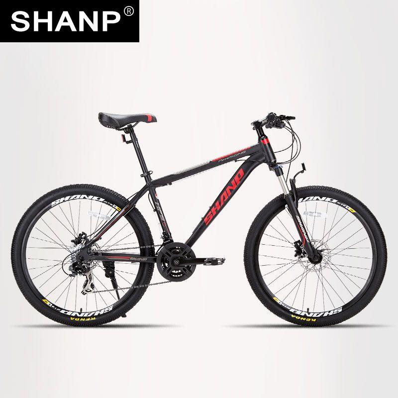 SHANP Mountain Bike Aluminum Frame 21/24 Speed Shimano 26