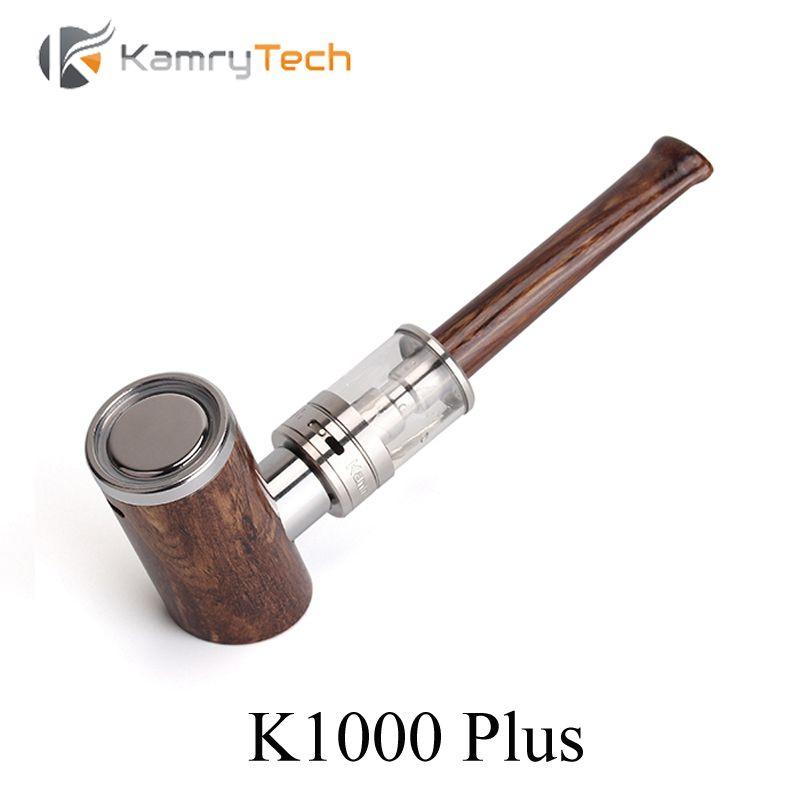 Kit de Cigarette électronique E tuyau Kamry K1000 Plus tuyau en bois E narguilé vaporisateur Vape stylo avec K1000 atomiseur E Cigarette X1034