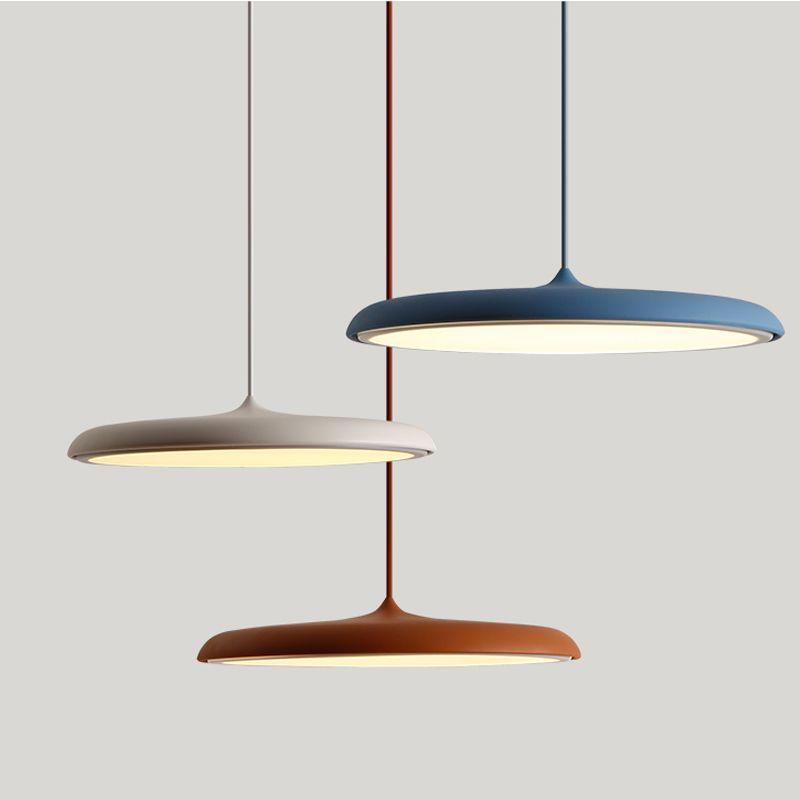 Modern led Hanging&Pendant Lights 8 Colors DIY Art Lighting dining room corridor Bar Cafe Pendant Lamp Fixtures Home Decoration