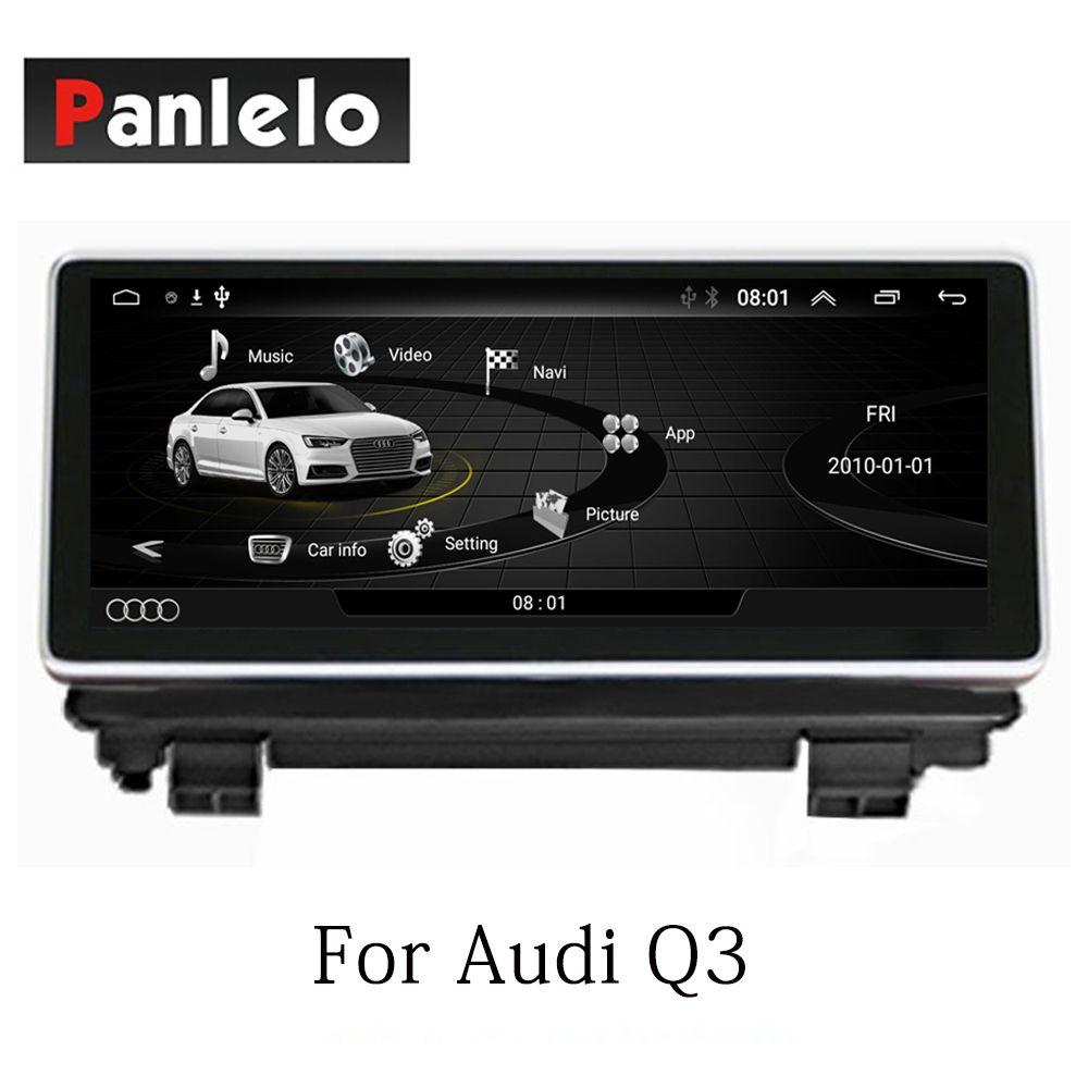 Panlelo Auto Stereo Android 7.1 Für Audi Q3 Auto Radio AM/FM GPS Navigation BT Lenkrad-steuerung Wifi 2 din HD 1024*600