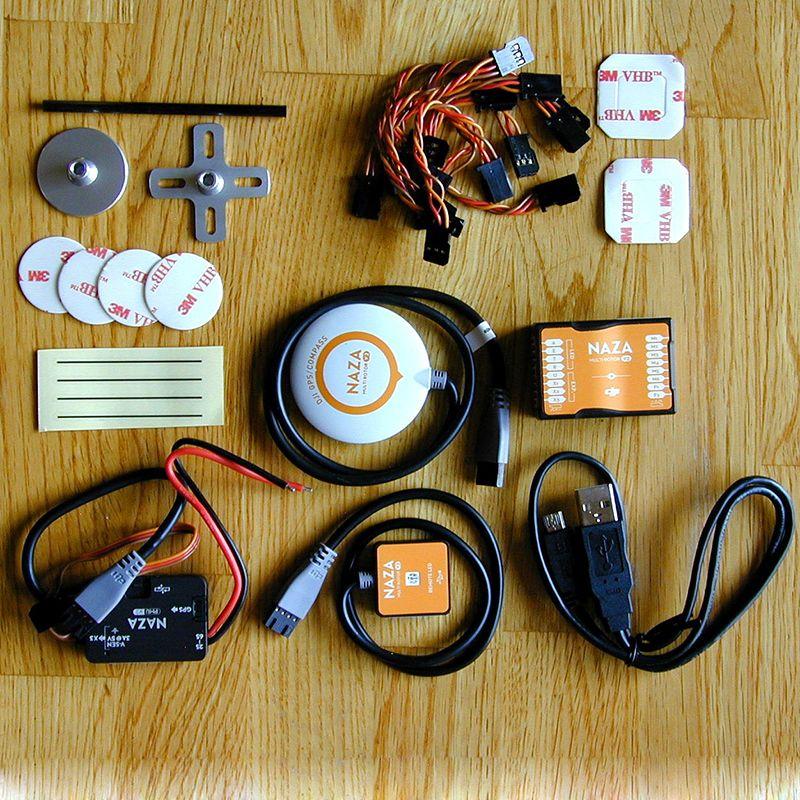 Original Naza M V2 Naza V2 Flight Controller Neueste Version 2.0 mit GPS/PMU/LED All-in-eine Design für Multicopter