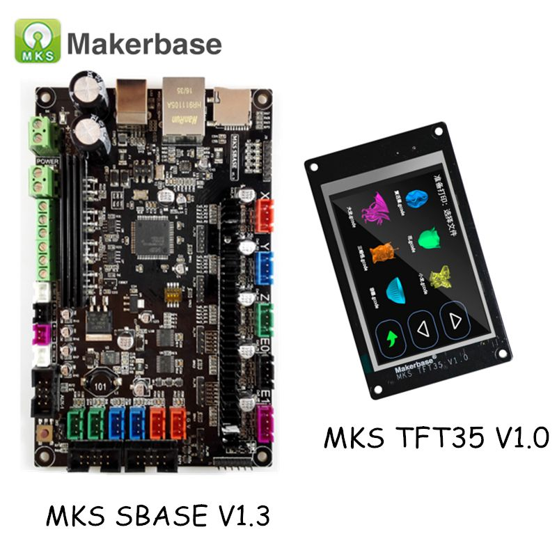 3D Printer Parts MKS SBASE V1.3 Smart Controller Smoothieboard with Smart Control Display MKS TFT35
