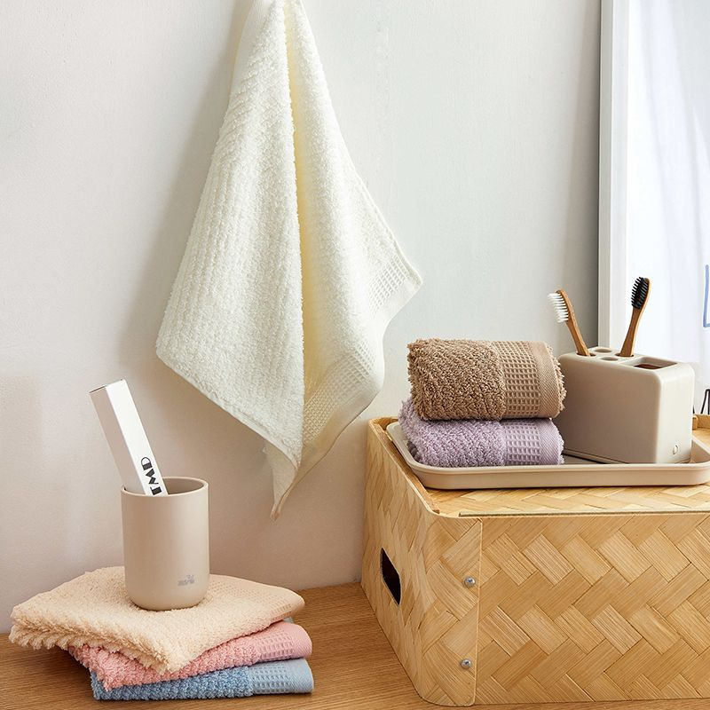 J pinno Cotton Bathroom Hand Towel 3pcs together in one package size78*35cm Soft Comfortable pink white purple brown blue Venus