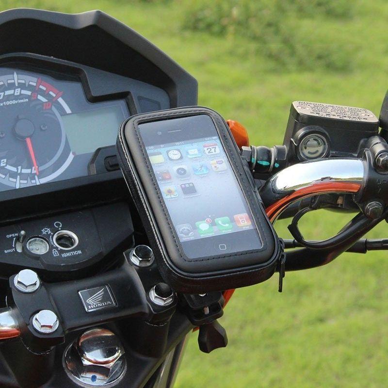 Moto Support de Téléphone Support Téléphone Mobile Stand pour Moto Support pour HUAWEI Rouge mi 5 PLUS S2 mi 8 SE titulaire Étanche Sac