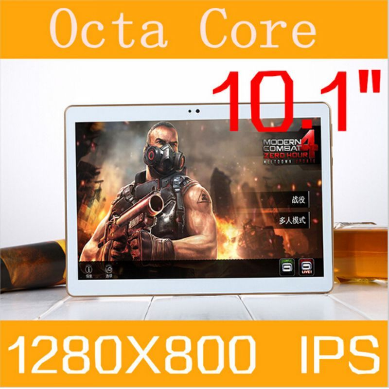 DHL Free shipping 10.1 inch tablet pc android 5.1 octa core RAM 4GB ROM 64GB 3G 4G Phone call 8 core 1280*800 Tablets Kids MID