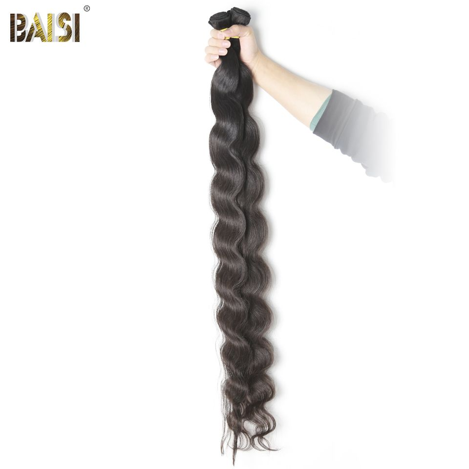 Baisi Factory Peruvian Virgin Hair Body Wave Longest Length 28 30 32 34 36 38 40 42inches Human Hair Extension Free Shipping