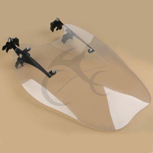 Clear Windscreen Windshield Wind Shield Screen For Harley Sportster XL883 1200 86-11 motorcycle