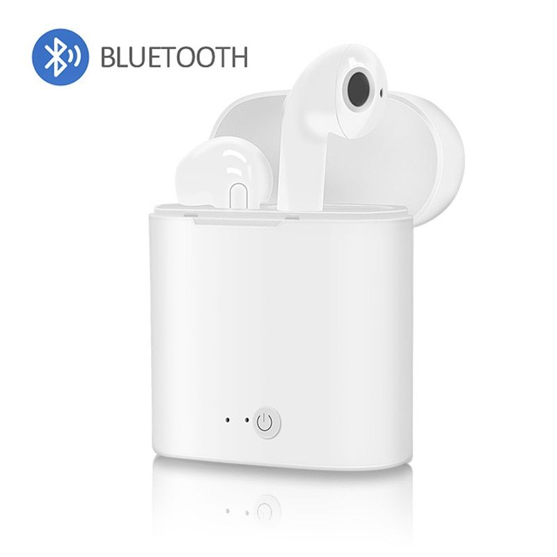 i7s TWS Sport Bluetooth Headset with Stereo Wireless Microphone Wireless Headset Earphone for iPhone X Smart Phone Xiaomi