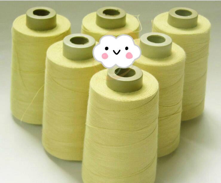 FL 100% 1414 100 gramme 1500 M aramide résistant aux fibres ignifuge fil ignifuge Kevlar haute température support de filetage personnalisé