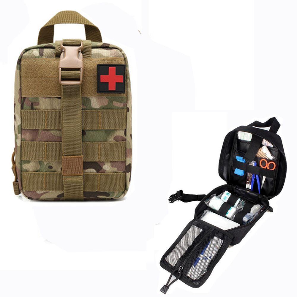 Sac de poche tactique de randonnée EDC Molle sac de premiers secours d'urgence survivre Kit paquet voyage en plein air Camping escalade Kits médicaux sac