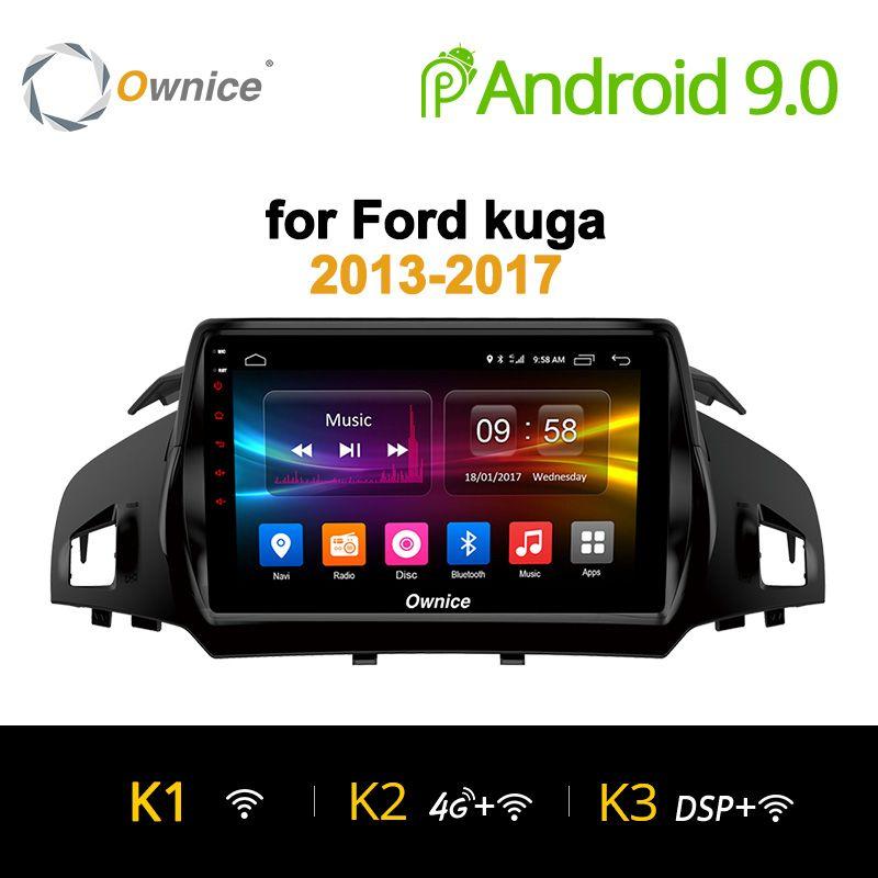 Ownice K1 K2 K3 Android 9.0 Acht 8 Core Auto-radio-player GPS navi dvd für Ford Kuga 2013-2017 2 GB RAM Unterstützung 4G SIM Karte