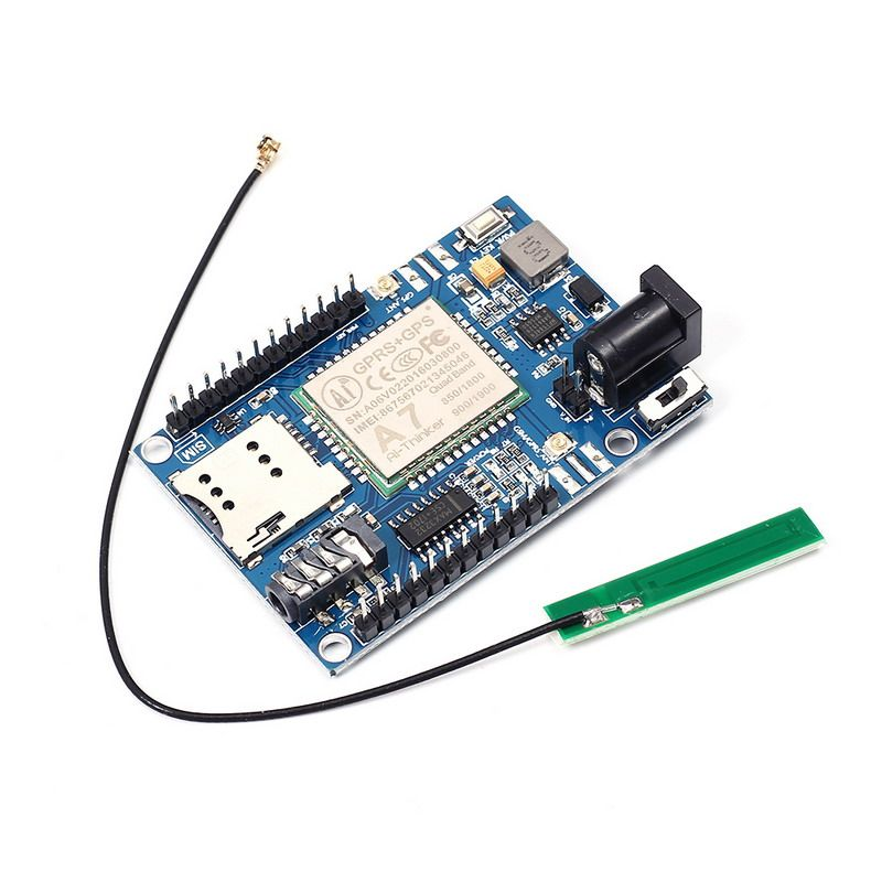 Wireless Module A7 GSM GPRS GPS 3 In 1 Module Shield DC 5-9V for Arduino STM32 51MCU Support Voice Short Message <font><b>Universal</b></font>