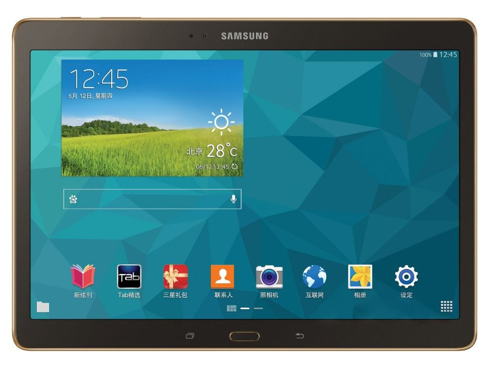 Samsung Galaxy Tab S 10.5 inch T805 4G+WIFI Tablet PC 3GB RAM 16GB ROM Quad-core 7900mAh 8MP Camera Android Tablet