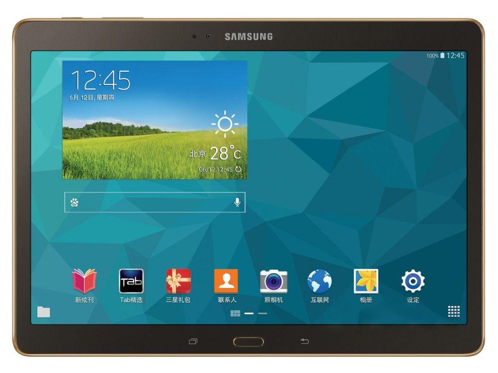 Samsung Galaxy Tab S 10,5 zoll T805 4g + WIFI Tablet PC 3 gb RAM 16 gb ROM Quad -core 7900 mah 8MP Kamera Android Tablet