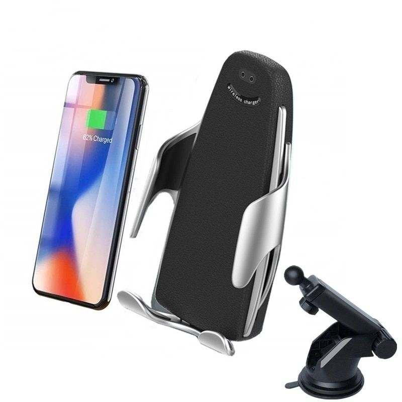 Car Mount 10W Fast Qi Wireless Charger Automatic Car Air Vent Phone Holder Wireless Charging for iPhone XS X 8 Samsung S9 S8