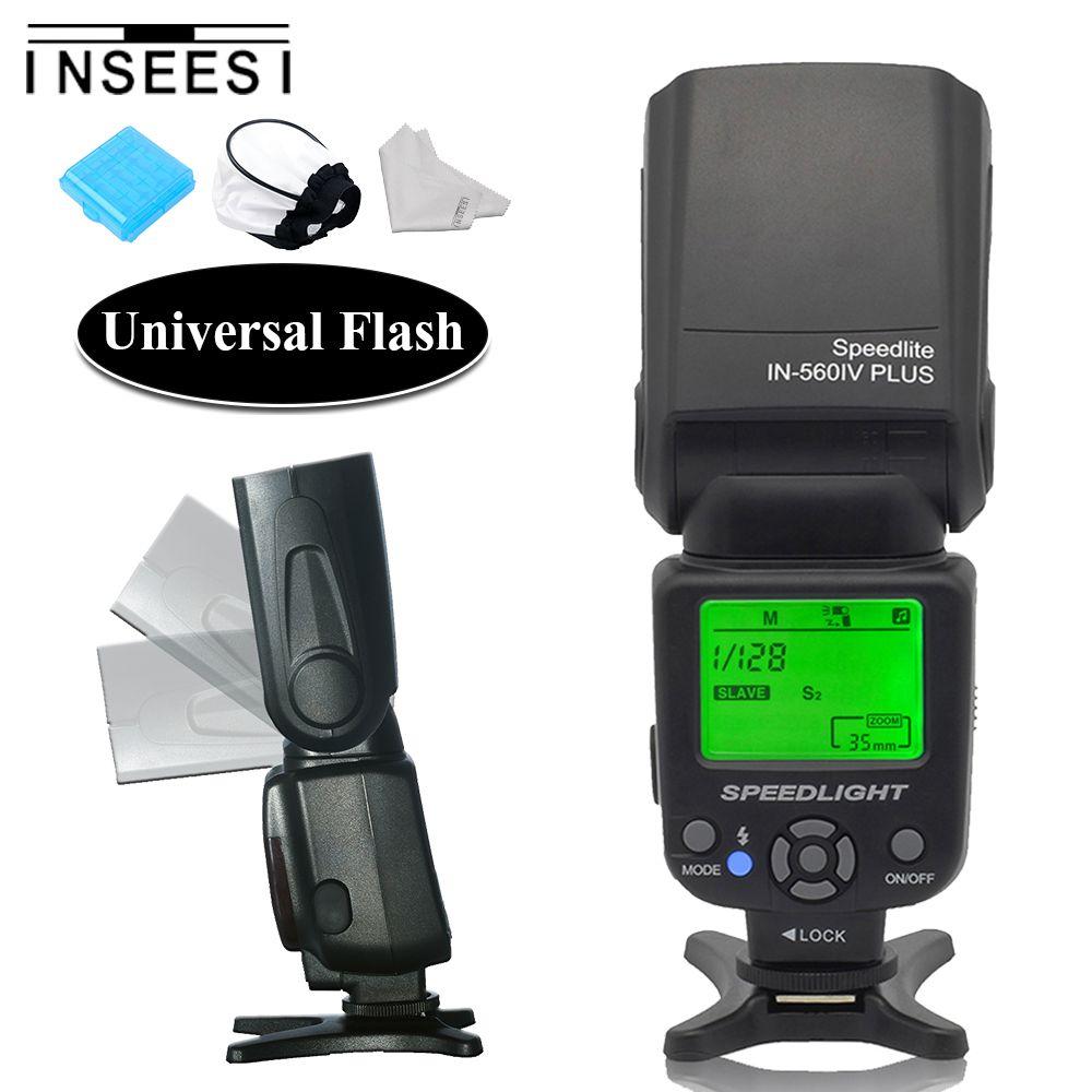 INSEESI IN-560IV Plus Caméra Flash Speedlite Pour Canon 6d 650d Pentax Nikon d5300 d7200 d7100 d3100 d90 d3200 d5200 Olympus