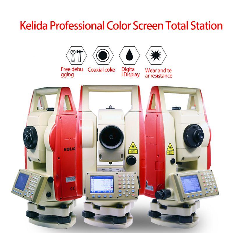 NEUE Kolida KTS-462R6L farbe bildschirm reflektorgesamtstation station 600 meter
