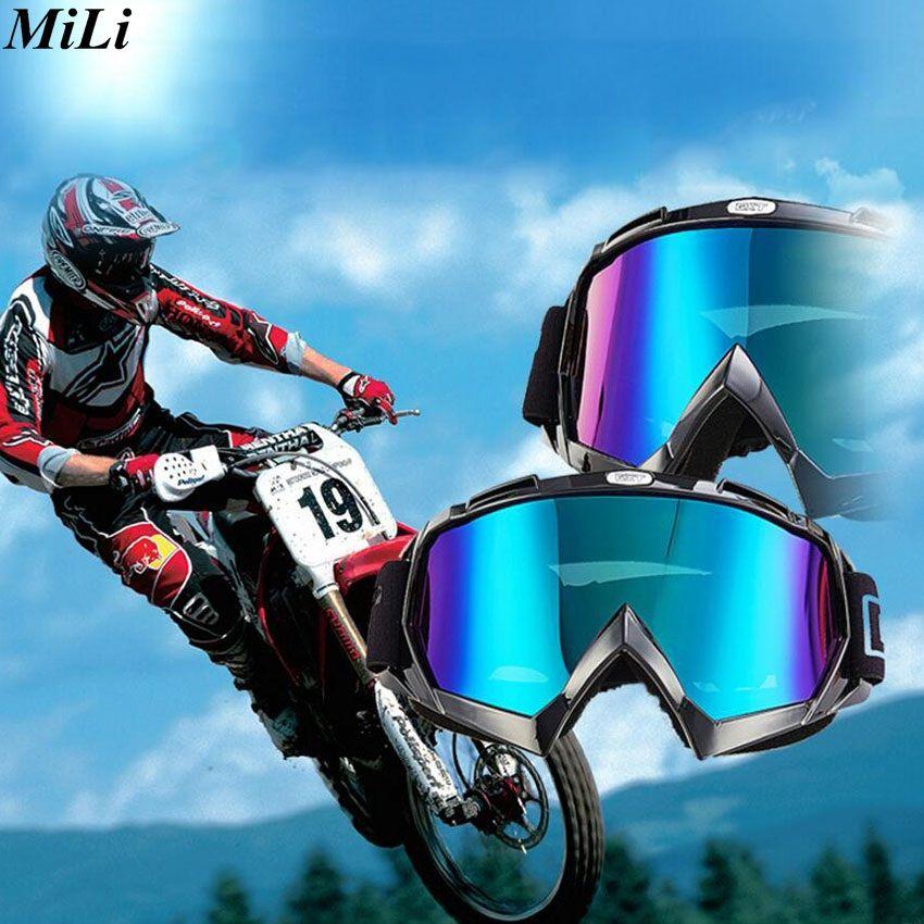 2017 мотокросс шлем очки Gafas Мотокросс Байк Мотоцикл шлемы очки катание на коньках Очки