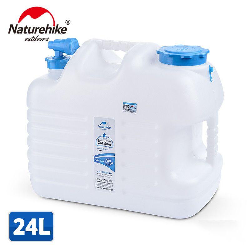 Naturehike Outdoor Sports Water Lagerung Eimer Lebensmittelqualität PE Große Kapazität 10L/12L/18L/24L Outdoor Wasser Cotainer