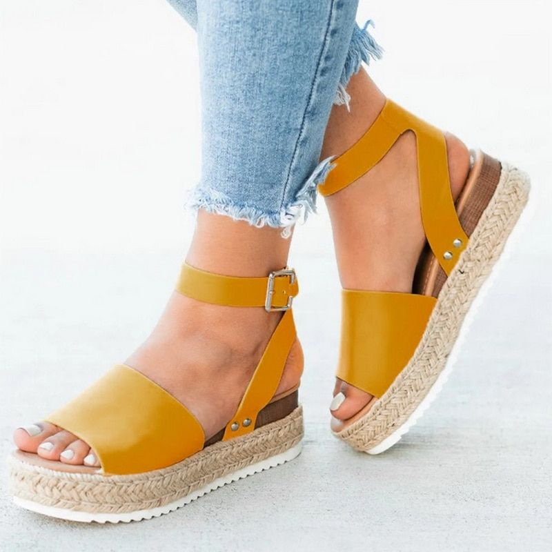 MoneRffi 2019 Flip Flop Chaussures Femme Platform Sandalia Sandals Women Wedges Shoes Pumps High Heels Sandals Summer Feminina