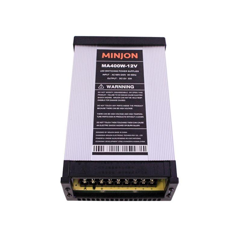 Livraison gratuite alimentation LED alimentation DC12V 60 W 150 W 250 W 400 W étanche à la pluie LED conducteur adaptateur d'alimentation transformateurs d'éclairage