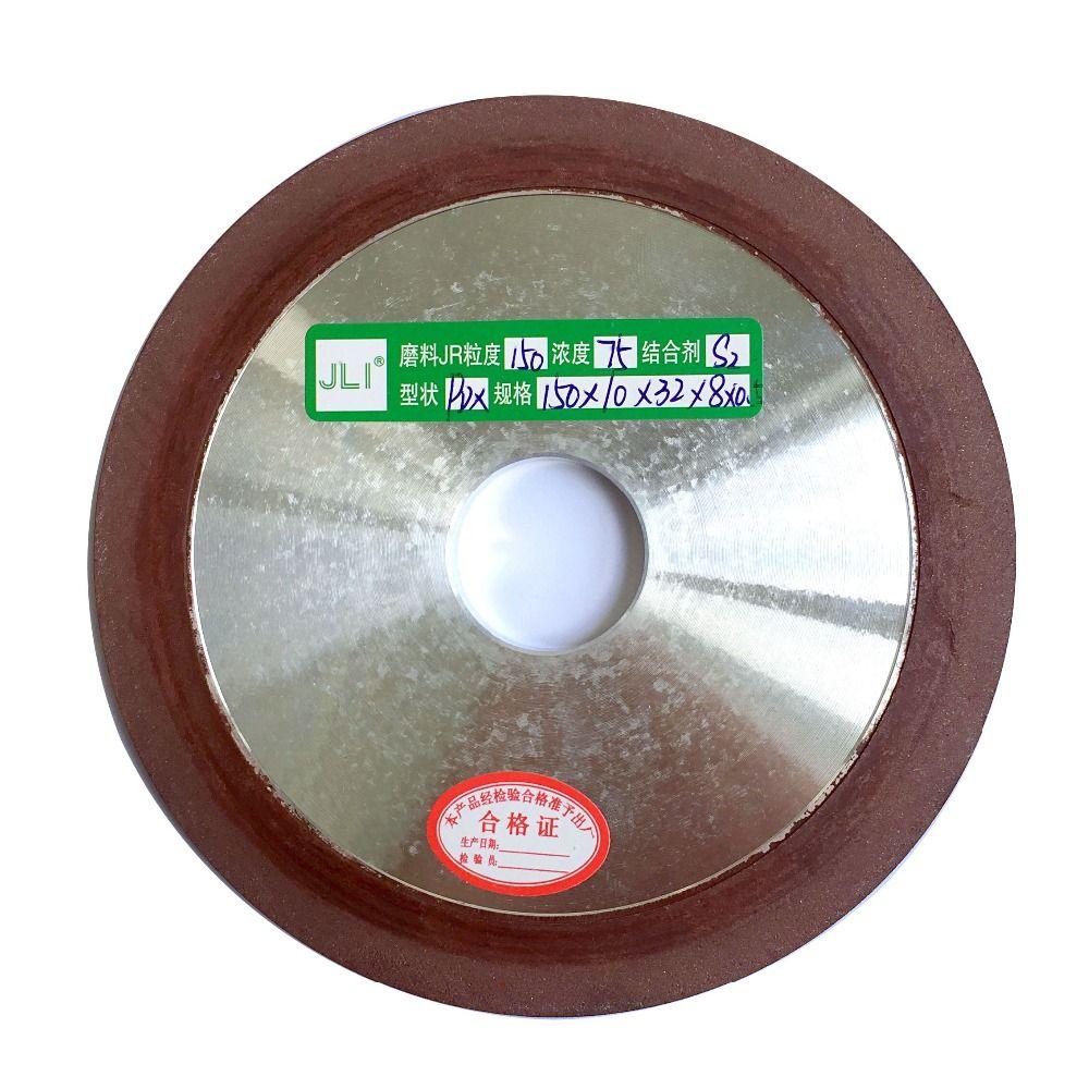 1 pièces 150mm 120/150/180/320/400 degrés diamant roue coupe galvanisé lame de scie disque de meulage PDX meule