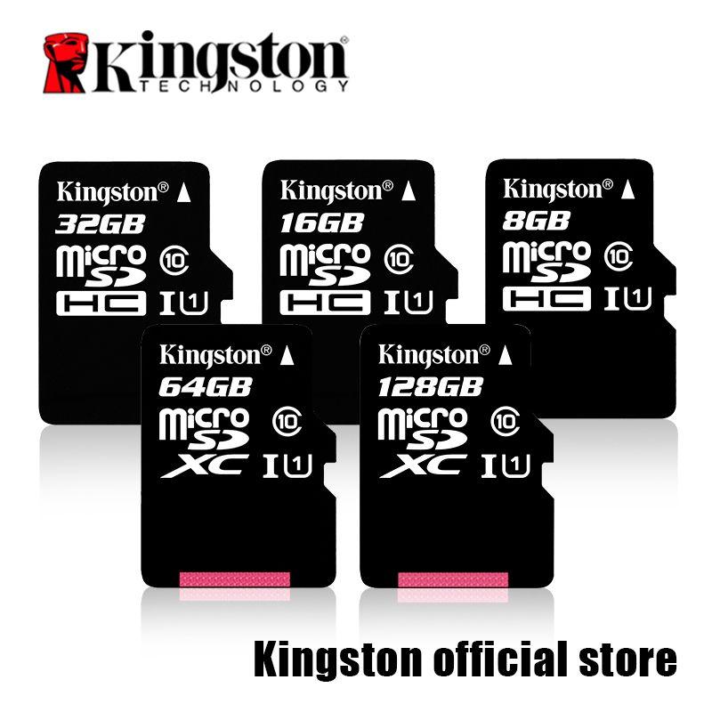 Kingston Micro SD Carte Mémoire Carte Class10 carte sd memoria C10 Mini SD Carte SDHC/SDXC TF Carte UHS-I Pour Mobile téléphone