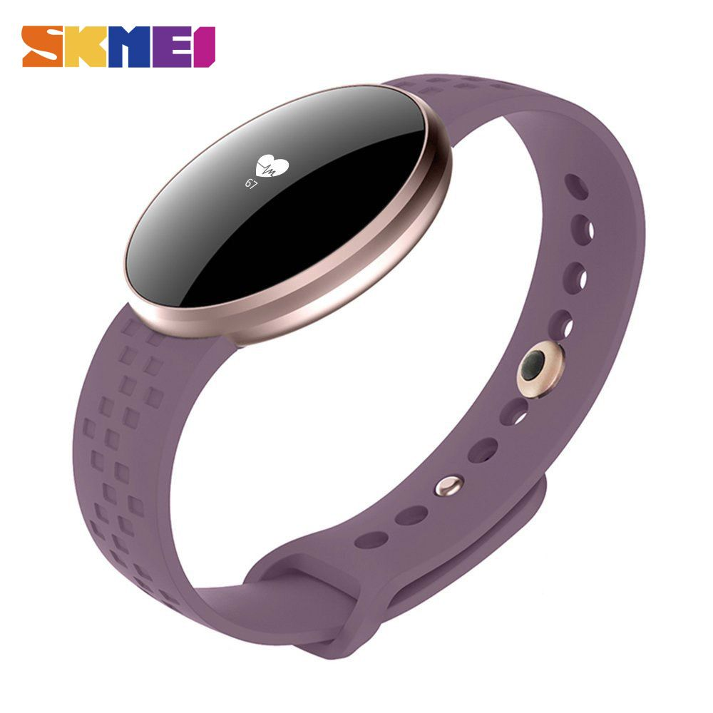 SKMEI Women Fashion Smart Watch for IOS Android with Fitness Sleep Monitoring Waterproof Remote Camera GPS Auto Wake Screen B16