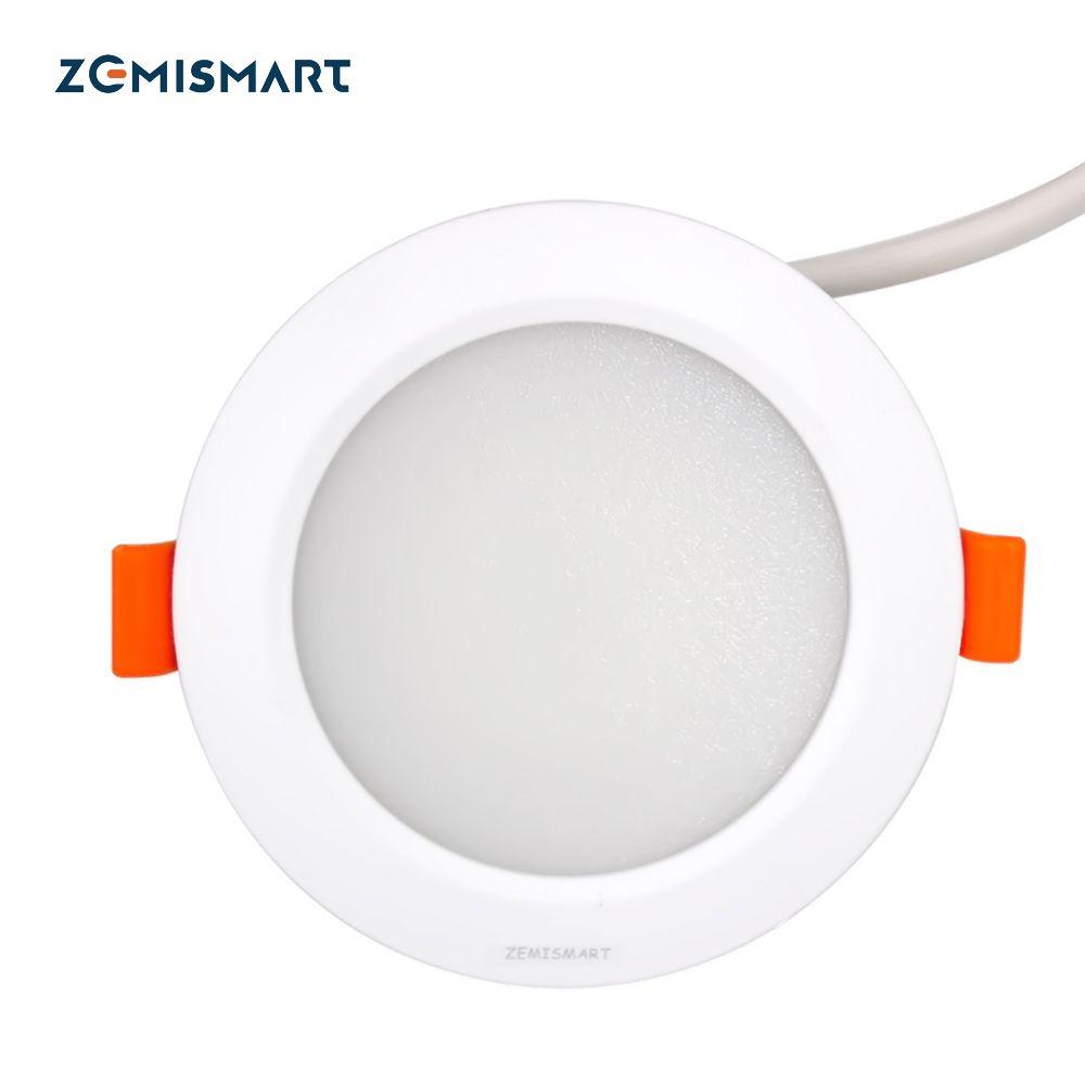 ZLL ZigBee Smart RGBW Downlight Led Bulb Light Work with Amazon Echo Plus Directly 7w Smart Lighting Solution